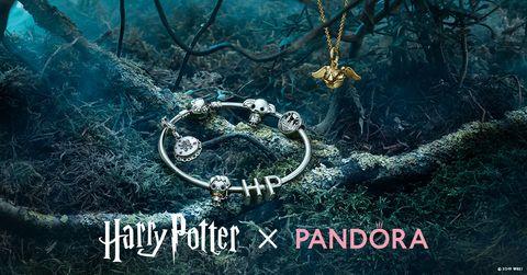 Pandora聯名哈利波特推出珠寶吊飾