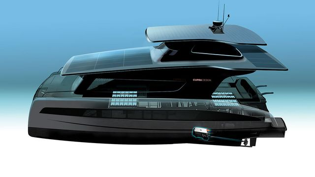 volkswagen silent 50 yacht