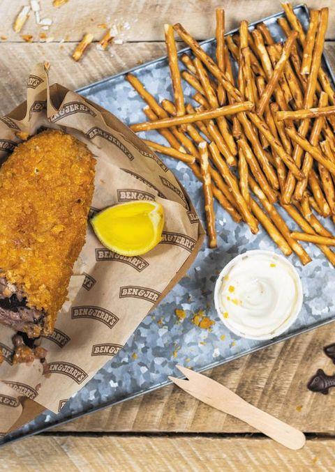 Food, Dish, Cuisine, Ingredient, Fish stick, Fried food, Fish and chips, Mozzarella sticks, Comfort food, Fast food,