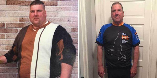 cycling weight loss daniel lowney
