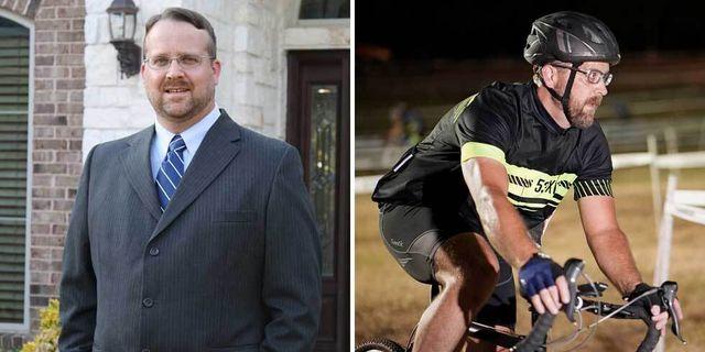 cycling weight loss greg brady