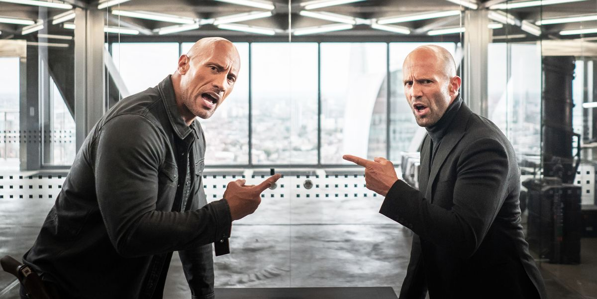 Jason Statham Calls The Rock 'Fat Boy' in the New 'Hobbs ...