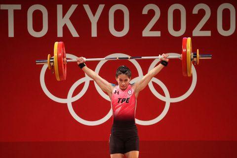 台灣「舉重女神」拿下東京奧運金牌
