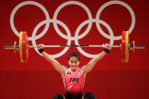 郭婞淳 舉重金牌weightlifting  olympics day 4