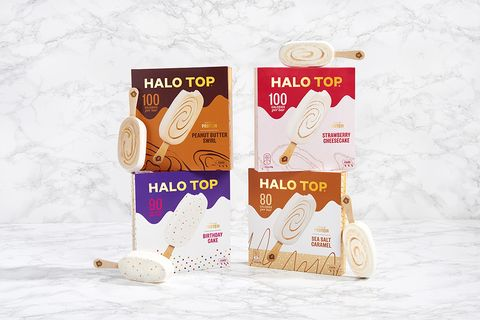 Halo Top Just Launched Stick Ice Creams For The First Time And Birthday Cake