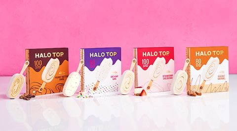 Halo Top Just Launched Stick Ice Creams For The First Time