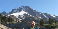 RJR in front of Mt. Hood