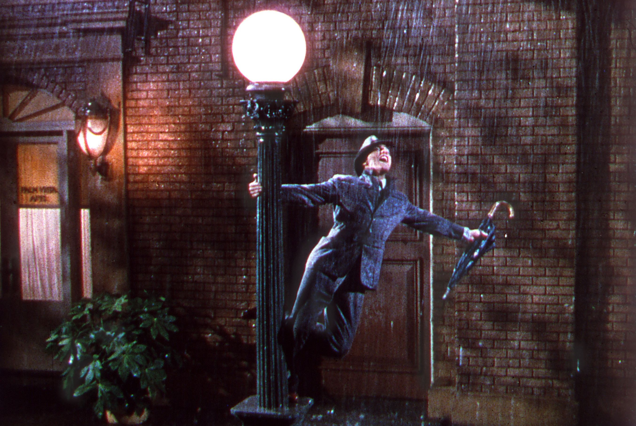 """Watch Now This MGM musical starring Gene Kelly and Debbie Reynolds was emblematic of the grand productions of the 1950s, while also poking fun at the transition from silent to sound film. Thank goodness for that glorious sound, though, without which we wouldn't have such incredible song and dance numbers as """"Singin' in the Rain,"""" and """"Good Mornin.'"""""""