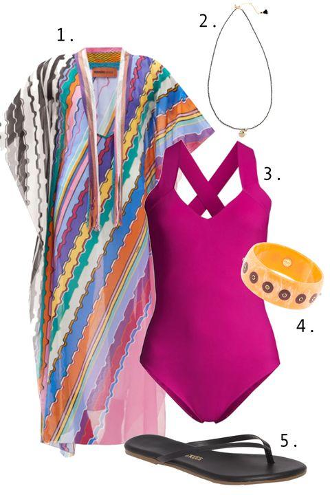 one piece swim outfits