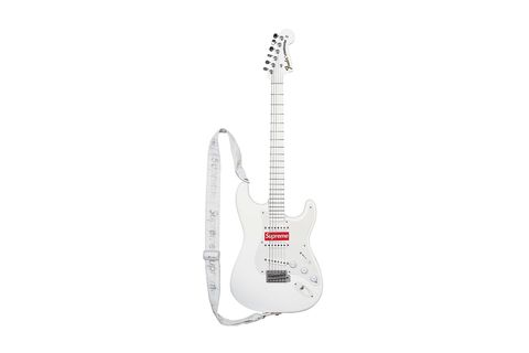 Musical instrument, String instrument, Guitar, Plucked string instruments, Musical instrument accessory, String instrument, White, String instrument accessory, Electronic instrument, Font,