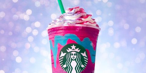 Drinking straw, Pink, Dessert, Party supply, Sweetness, Ingredient, Fast food, Lid, Dairy, Plastic,