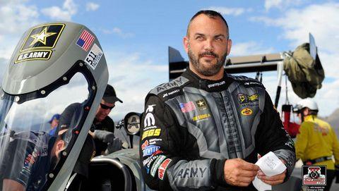 Tony Schumacher NHRA Top Fuel Champion