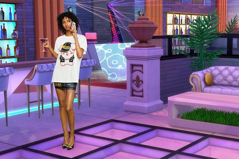 Purple, Violet, Fashion, Adventure game, Fun, Screenshot, Dress, Fashion design, Animation, Games,