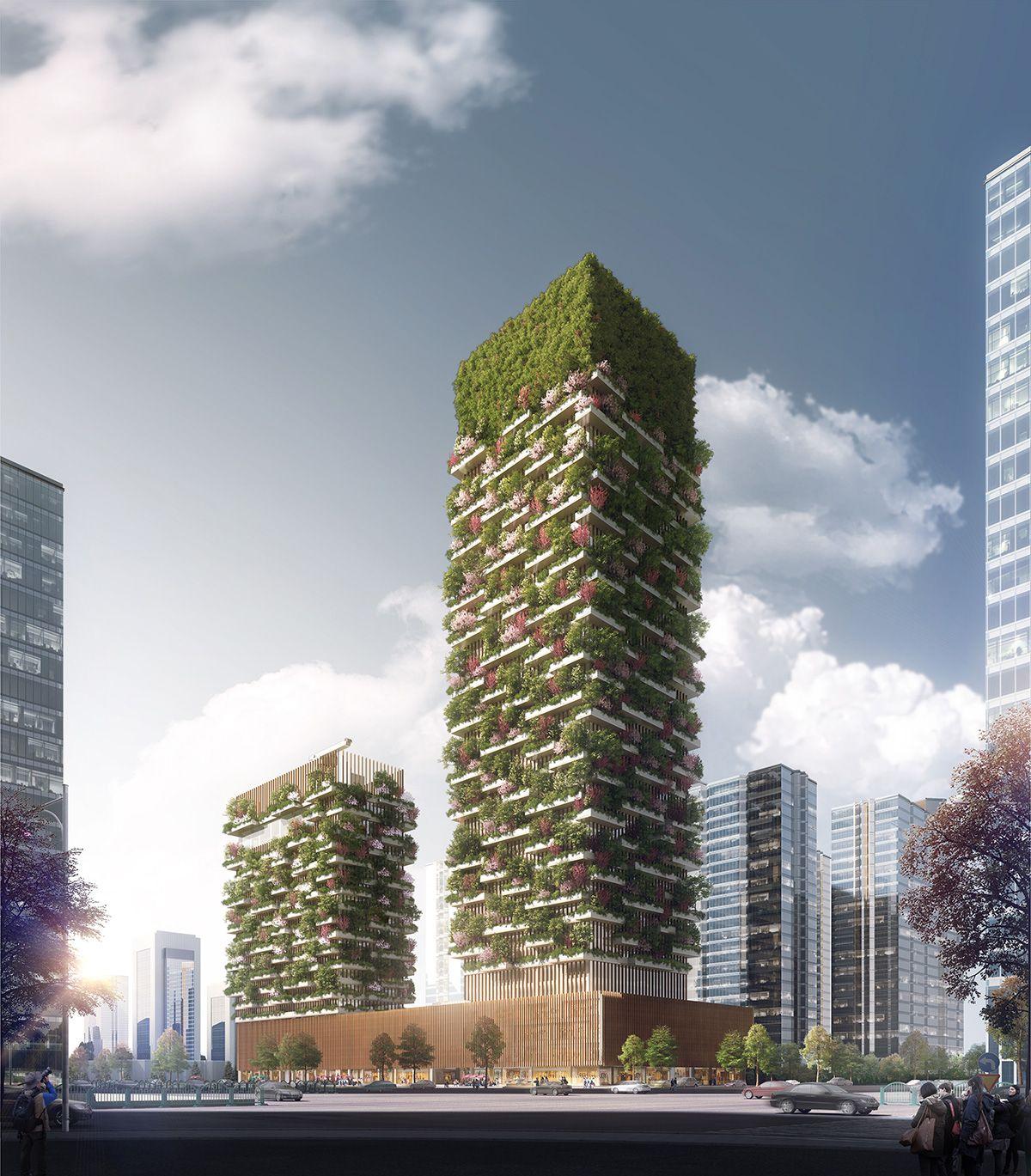 China tendrá dos bosques verticales de Stefano Boeri
