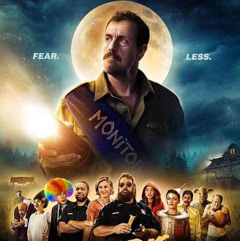 hubie halloween poster starring adam sandler