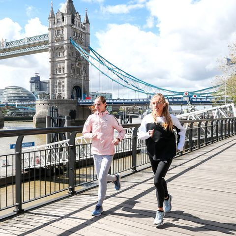 Training Partners Molly Huddle and Emily Sisson Aim to Break 2:23 at London
