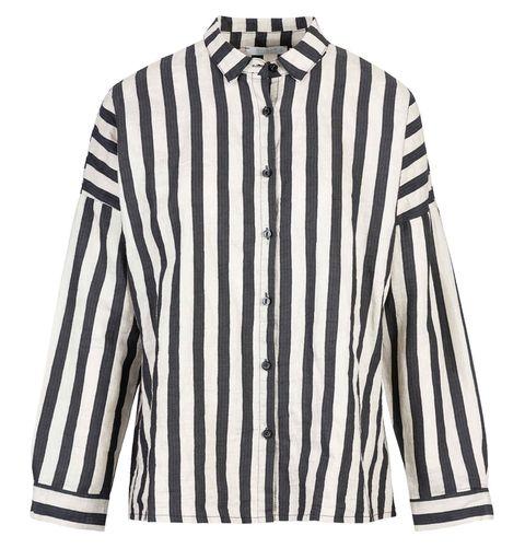 Clothing, White, Sleeve, Collar, Shirt, Outerwear, Dress shirt, Blouse, Button, Top,