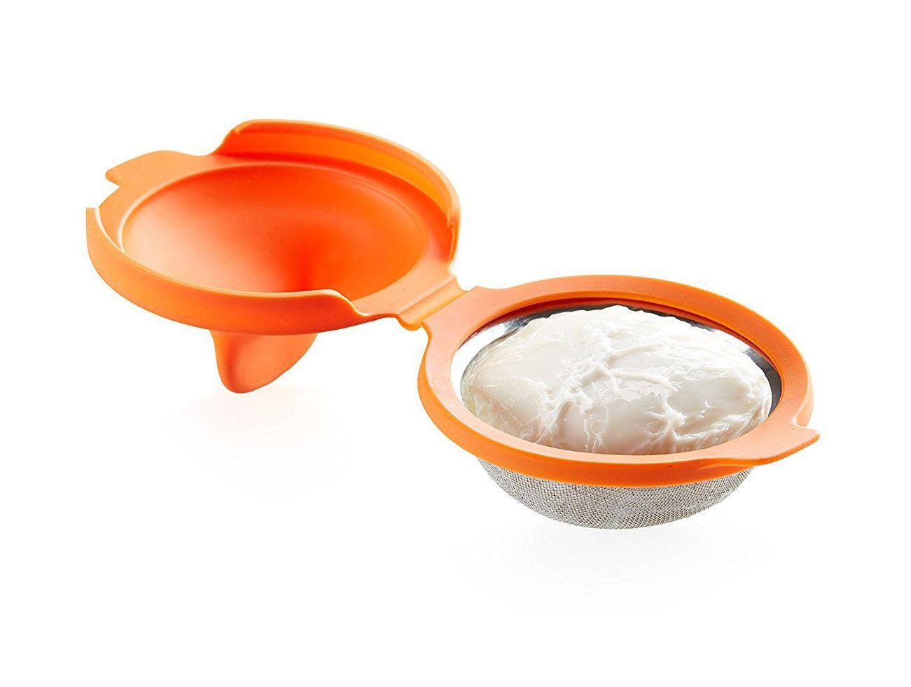 Huevos escalfados en microondas