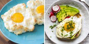 Dos recetas con huevo: Huevos Nube o Huevos a la plancha