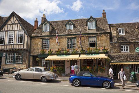 Huffkins bakery in Burford, Oxfordshire, England, UK