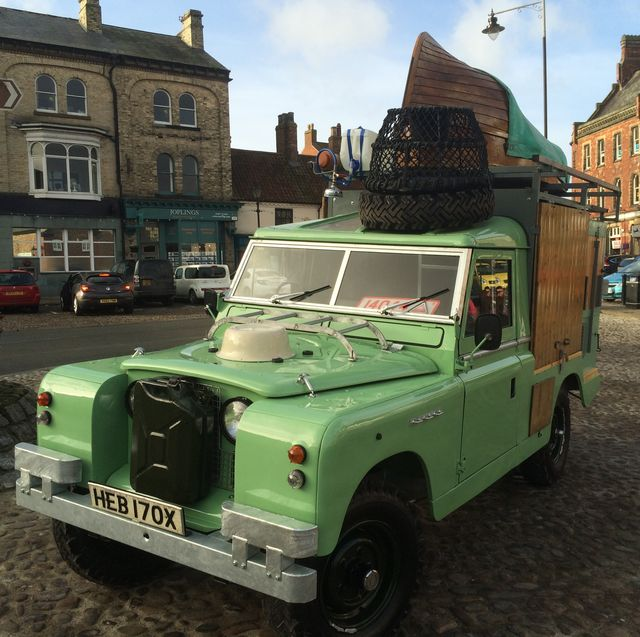 hugh fearnley whittingstall's iconic land rover is renovated and up for sale