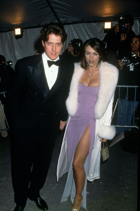 Hugh Grant and Elizabeth Hurley...