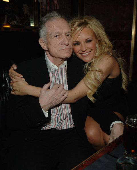 hugh hefner's 81st birthday weekend birthday party at the playboy club at the palms hotel and casino resort