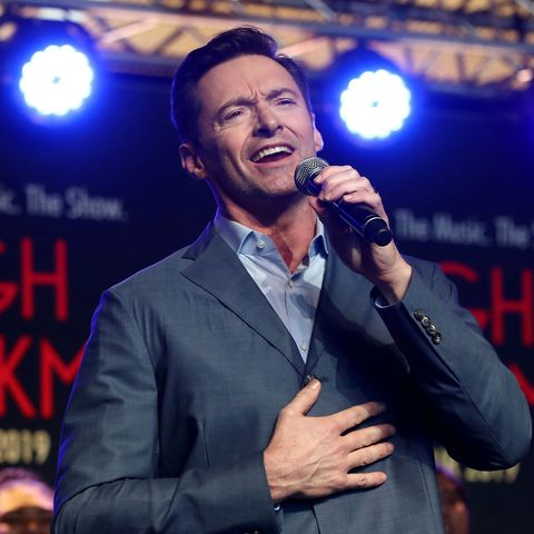 Hugh Jackman receives honour from The Queen for services to the performing arts and charity
