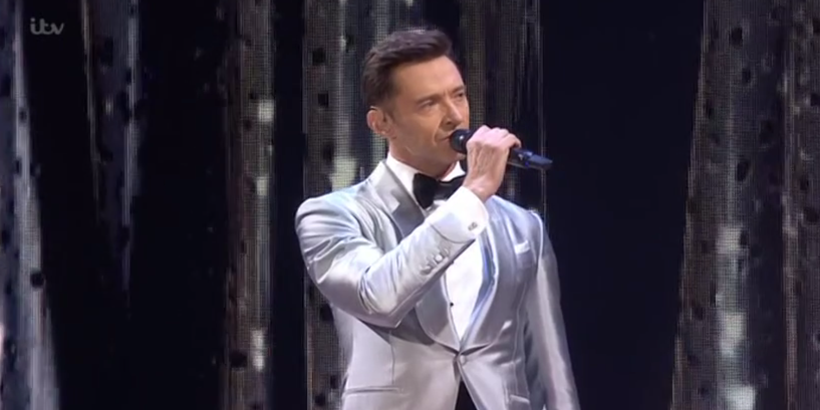 Hugh Jackman on the Brit Awards