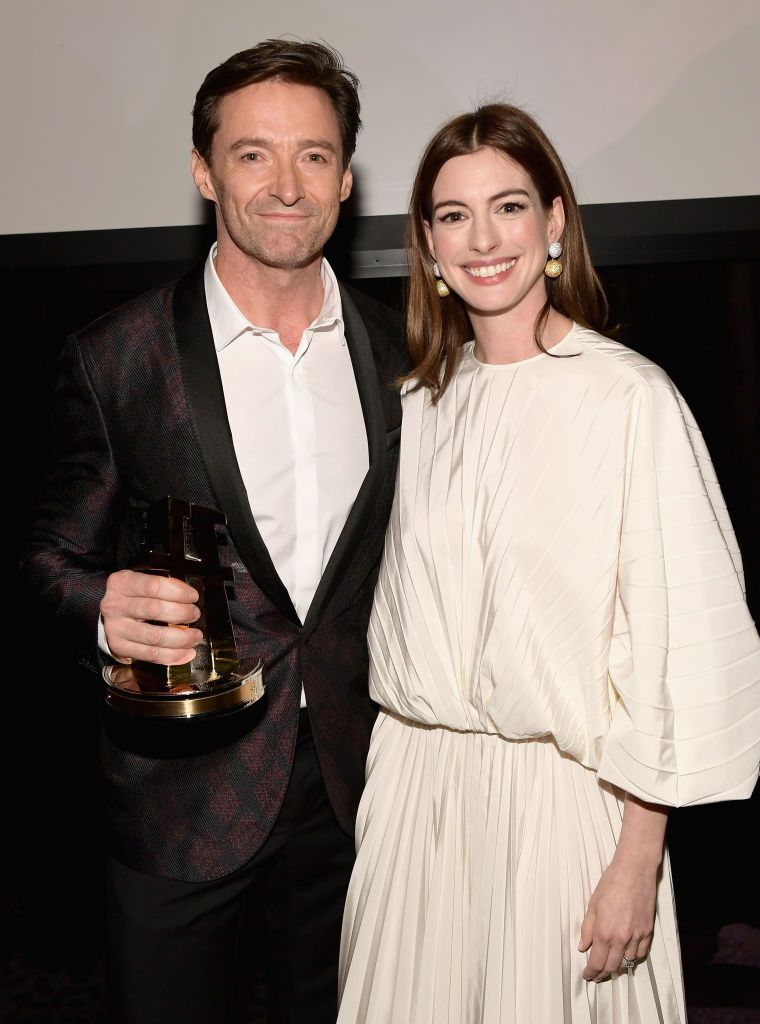 Anne Hathaway & Hugh Jackman This one may be a little unexpected! Hathaway and Jackman first met when they were filming Les Miserables together, and they've had nothing but the best things to say about each other since.