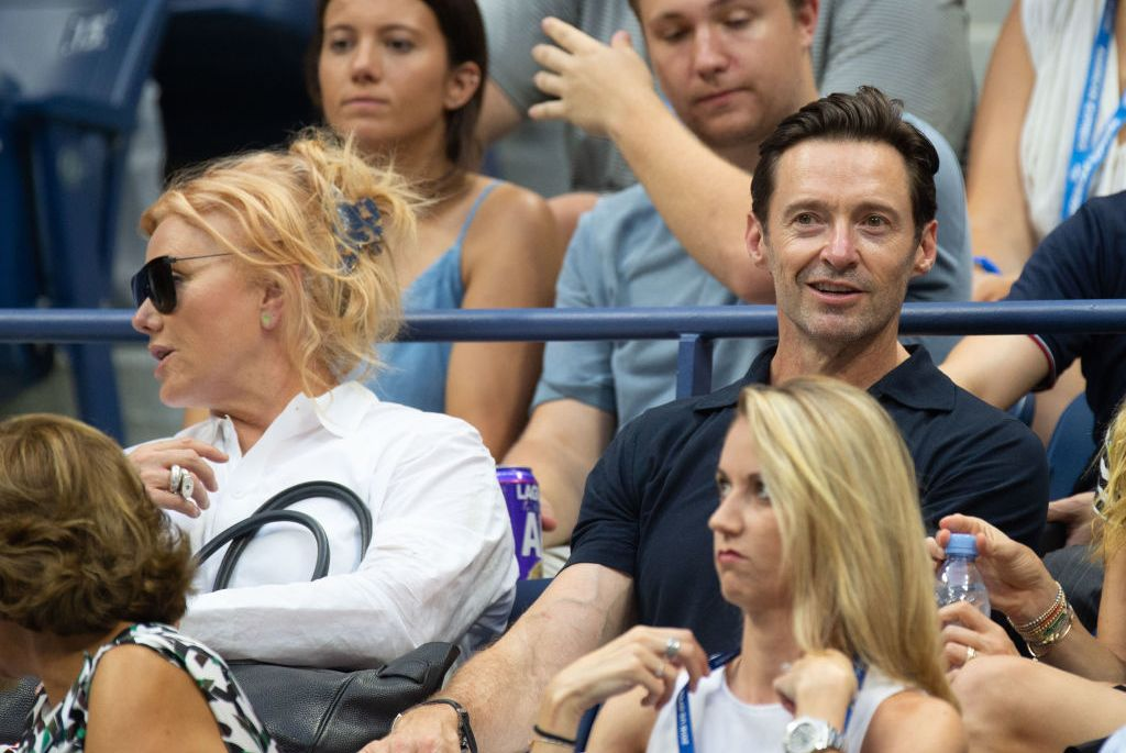 Hugh Jackman US Open 2018