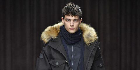 Fur, Fashion, Fur clothing, Jacket, Parka, Outerwear, Coat, Model, Human, Textile,