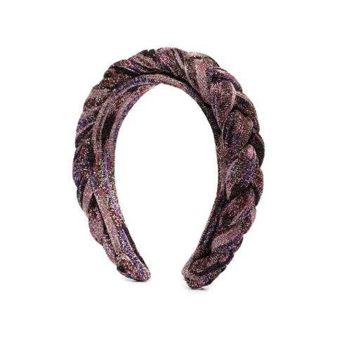 missoni haarband met glitter