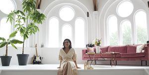 KunstenaarMilla Novo in haar huis