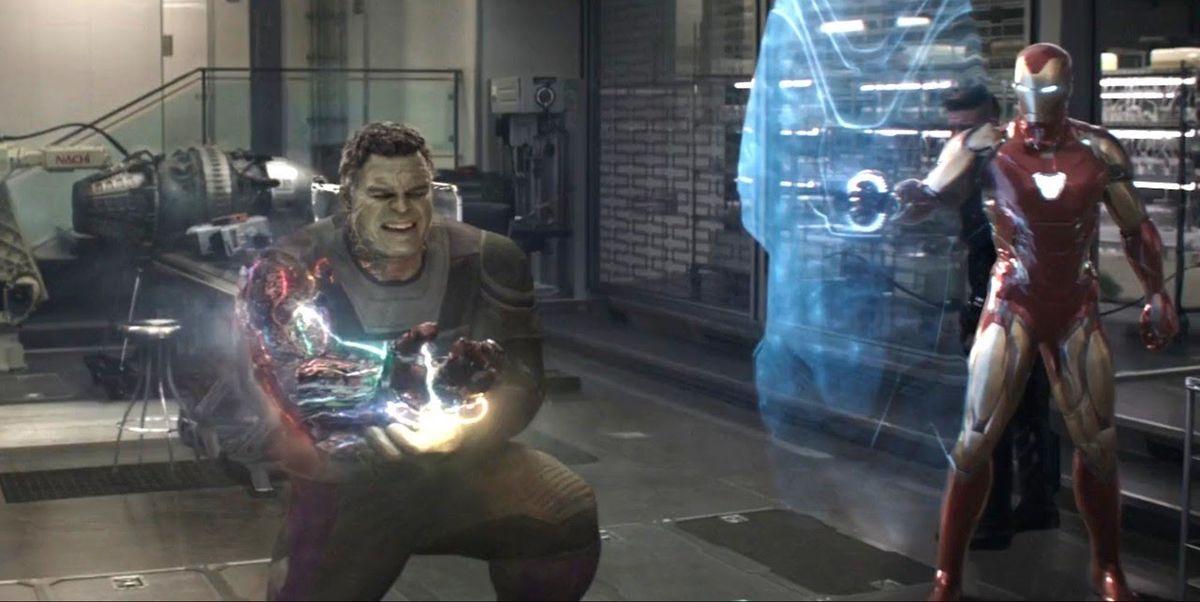 Una escena eliminada de 'Vengadores: Endgame' desvela el enigma de Hulk y la muerte de Iron Man
