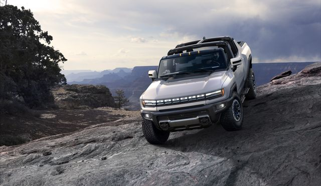 2022 gmc hummer electric truck