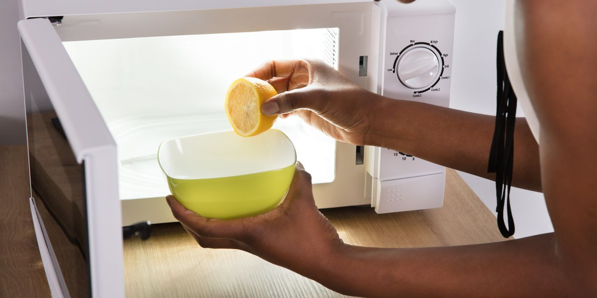 The Easiest Way To Clean A Microwave With Lemon