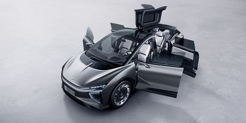 This Chinese Electric SUV Has a Weird Name and Even Weirder Doors