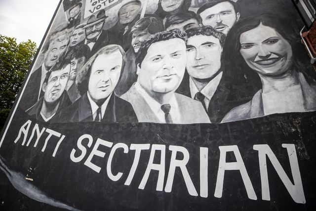 a mural in the bogside of derry city that shows john hume, one of the key architects of peace in northern ireland, after his death at the age of 83 photo by liam mcburneypa images via getty images