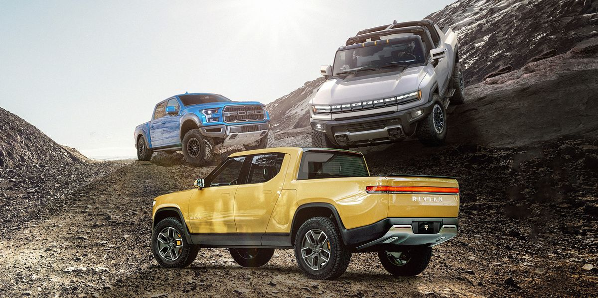 If the 2022 GMC Hummer Is a Supertruck, What Are Its Super-Competitors?