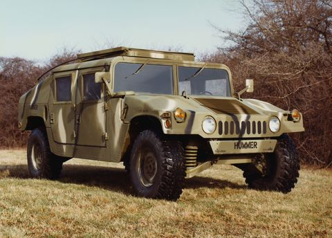 original caption detroit, michigan am general corporation, a subsidiary of american motors corporation has been awarded a 12 billion contract by the us army march 22th, to build a low slung, diesel powered 1 14 ton tactical vehicle called the hummer the new all terrain vehicle, short for high mobility, multi purpose wheeled vehicle, will be assembled near south bend, indiana the contract is estimated to create 800 jobs in the first year and up to 1,400 over its five year life the hummer will be the successor to the jeep