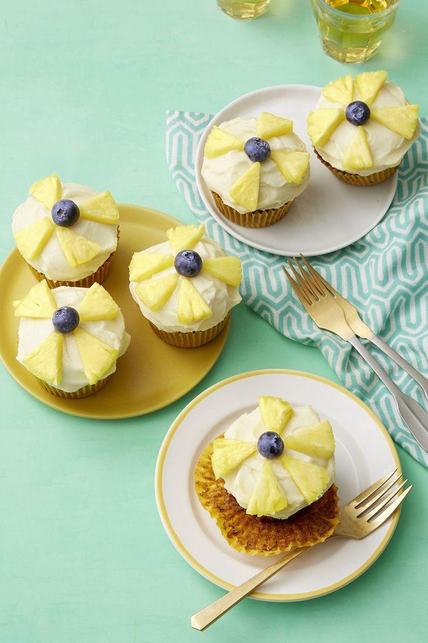 baby shower cakes -Hummingbird Cupcakes