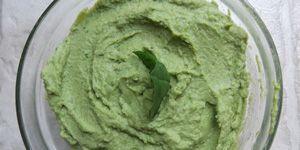 Kale Basil Hummus with 300x150