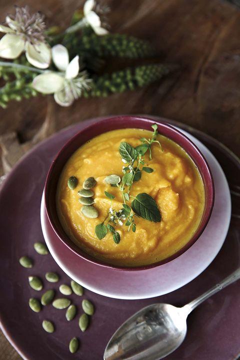 Hummus de calabaza y garbanzos