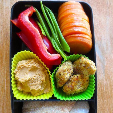 Hummus and Dippers Bento Box