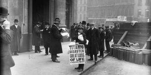 hundimiento titanic 1917