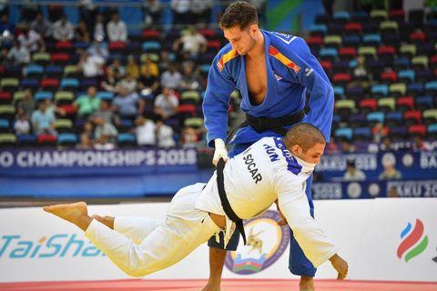 Nikoloz Sherazadishvili es campeón del mundo y líder del ranking mundial en judo.