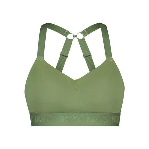 hunkemöller hkmx sportbh beha sportbeha groen sportkleding ondergoed