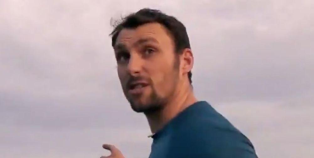 Hunted contestant Matt