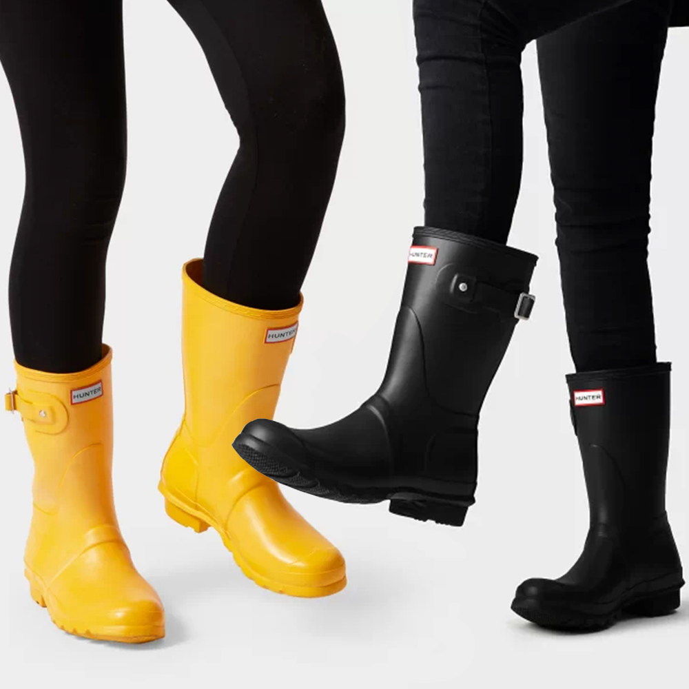 Shop Cute Hunter Rain Boots That Are Discounted on Amazon Right Now